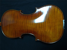 1 PC Finished Violin with One whole piece maple Back 4/4 with case and Brazil wood bow and rosin