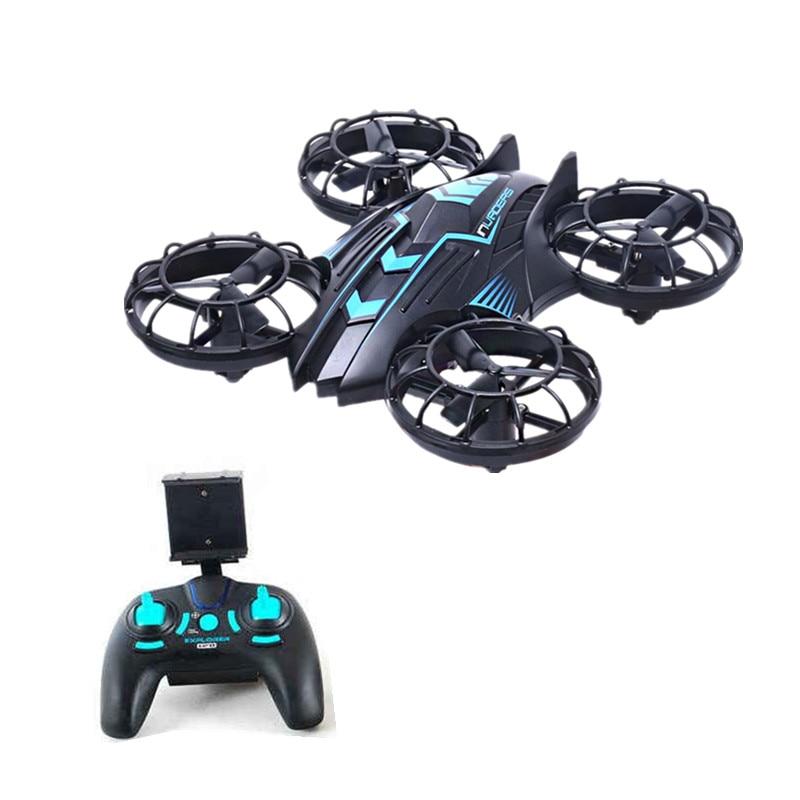 Le plus nouveau Drone JXD 515 W envahisseurs UFO WIFI FPV Drone 2.4 GHz Drone avec caméra mis en Mode haut de gamme Mode sans tête RTF pour les meilleurs cadeaux - 4