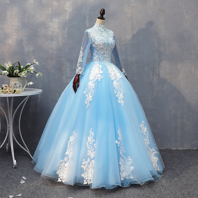 7767720ccf3ef 100%real ice queen embroidery ball gown cartoon vintage medieval dress  Renaissance princess fairy costume Victoria collar dress