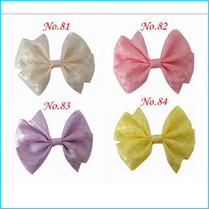 120 Good Girl 4.5 inch Wendy Boutique Butterfly Hair Bow Clip 3 Style 364 No.