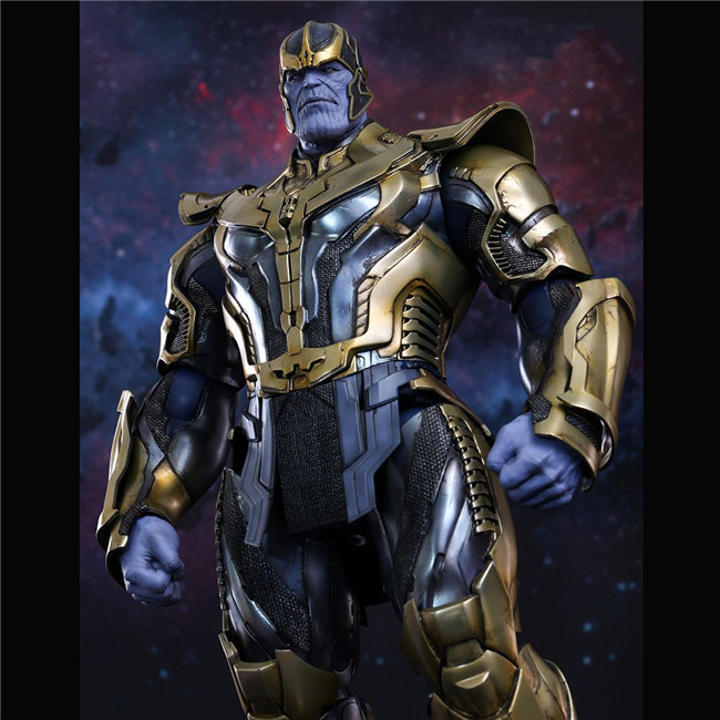 Hot Toys Compatible Thanos in Avengers 36cm BJD Joints Moveable Action Figure Toys for New Year
