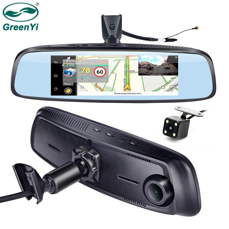 GreenYi 7 84 Special 4G LTE Car Camera Mirror Monitor Android ADAS GPS DVR Registrar Dash