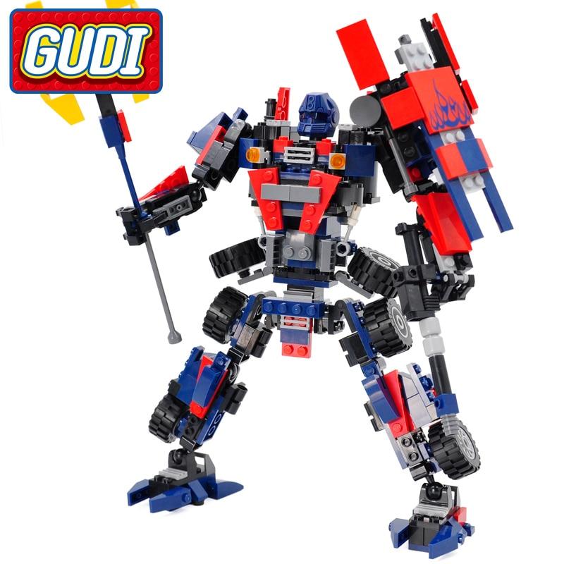 GUDI Legoing Robot Creator Blocks 377pcs tegelstenar Classic Technic - Byggklossar och byggleksaker - Foto 1