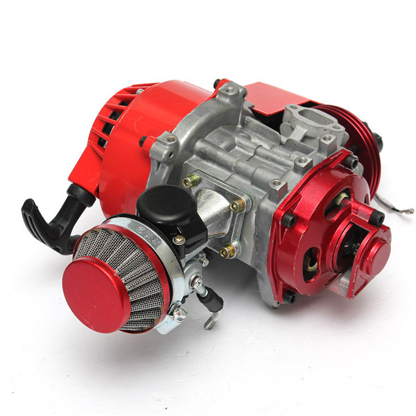 49cc manual racing engine red mini pocket minimoto air cooled atv rh aliexpress com Zoom 49Cc Pocket Bike Pocket Bike Mod