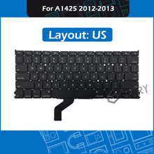 10pcs/Lot US Layout for Macbook Pro Retina 13″ A1425 Keyboard Replacement MD212 ME662 2012 2013 Year