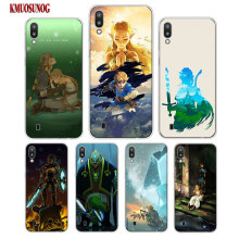 Transparent Soft Silicone Phone Case Legend of Zelda nintend world for Samsung Galaxy S10 S10e Plus S10+ M10 M20 Cover