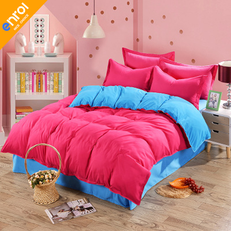 beautiful white queen size beds from us stores | Aliexpress.com : Buy 4pcs Polyester Colorful Bedding Set ...