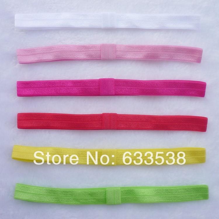 10pcs/lot Girls Stretchy Crochet Elastic Hair Band Newborn Kids TuTu ...