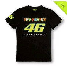 Free Shipping 2016 New MOTO GP Rossi VR46 T Shirt Women Summer Motorcycle Racing women Fans T-shirt VR 46 The Doctor T-shirts