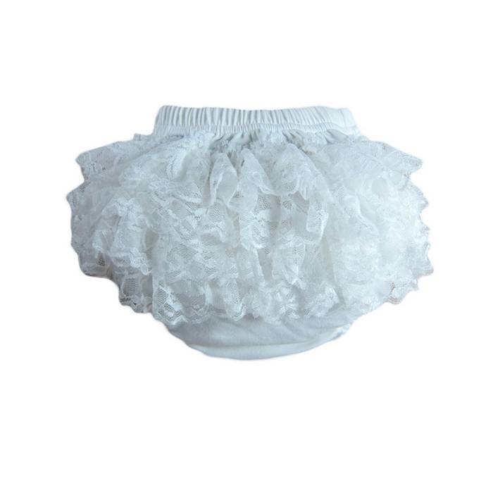 20pcs lot Wholesale Baby Underwear Girl 39 s Ruffle Shorts Infant Diaper Innerwear Cotton Bloomer Pettiskirt Pants Baby Girls Lace in Underwear Diaper Covers amp Bloomers from Mother amp Kids