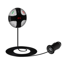 Transmisor inalámbrico de FM con Kit de Coche Reproductor de MP3 USB SD de la Ayuda tarjeta del tf pantalla lcd usb cargador de coche para iphone y android teléfonos