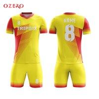 Creëren eigen voetbal uniform creëren uw eigen voetbalshirt officiële sport jerseys