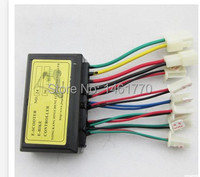Free Shipping Electric Scooter E Bike L3618D 250W 36V Brush Controller Speed Control Electric Bicycle Controller