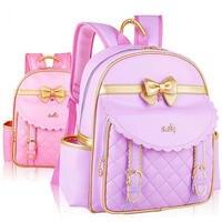 Orthopedic Elementary School Bags Children Backpacks Portfolio For Lovely Girls Grade 1 3 6 Mochila Infantil