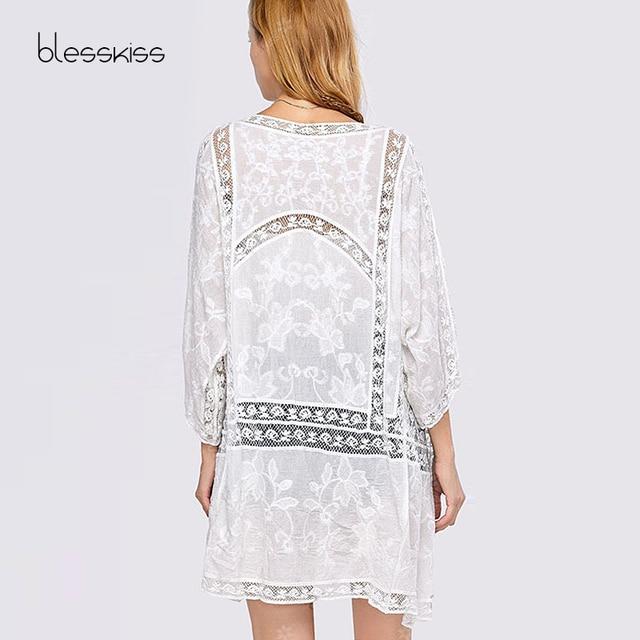 Crochet Pareo Beach Cover Up / Beach Dress 4