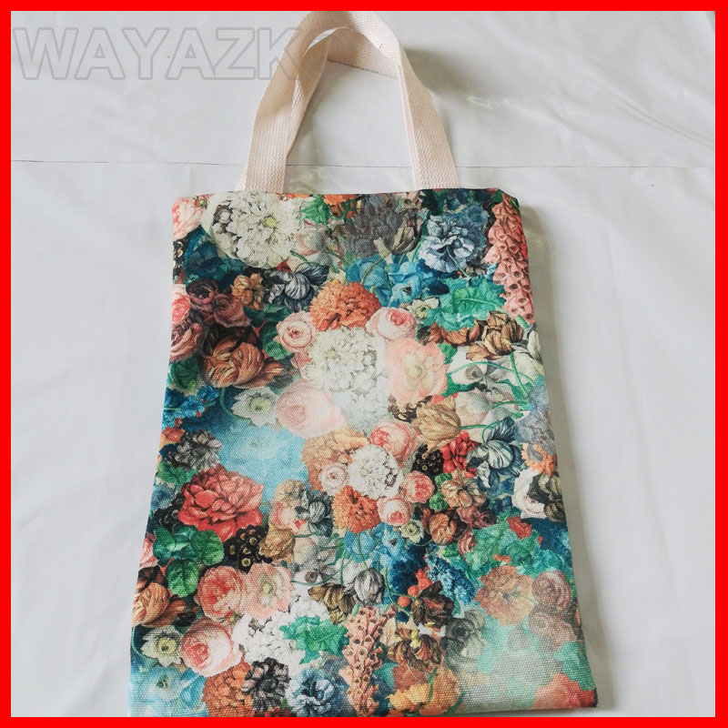 (500 Pieces/Lot) Personalized Tote Bag Canvas