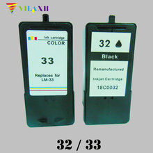 For Lexmark 32 33 Ink Cartridge for Lexmark P315 P4330 P4350 P450 X5410 X5450 X5470 X7300 X7350 X8310 X8350 Z810 for lexmark 33 ink cartridge for lexmark p315 p4330 p4350 p450 x5410 x5450 x5470 x7300 x7350 x8310 x8350 z810