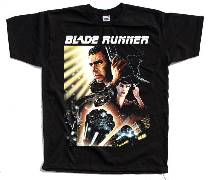 Blade Runner V3 Movie Poster 1982 T Shirt Black All Sizes S To 4Xl