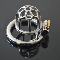 Male Chastity Cage 304 Stainless Steel Male Chastity Device Sex Toys For Men Penis Lock Ring 3 Model Choose