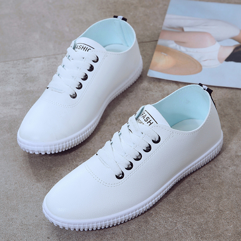 Women Shoes Summer 2018 Spring Women White Casual Shoes Breathable Flats Fashion Breathable Women Sneakers
