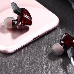 Image 5 - Fonge auriculares T01 transparentes, intrauditivos Subwoofer estéreo de graves con micrófono para teléfono inteligente HTC y Huawei