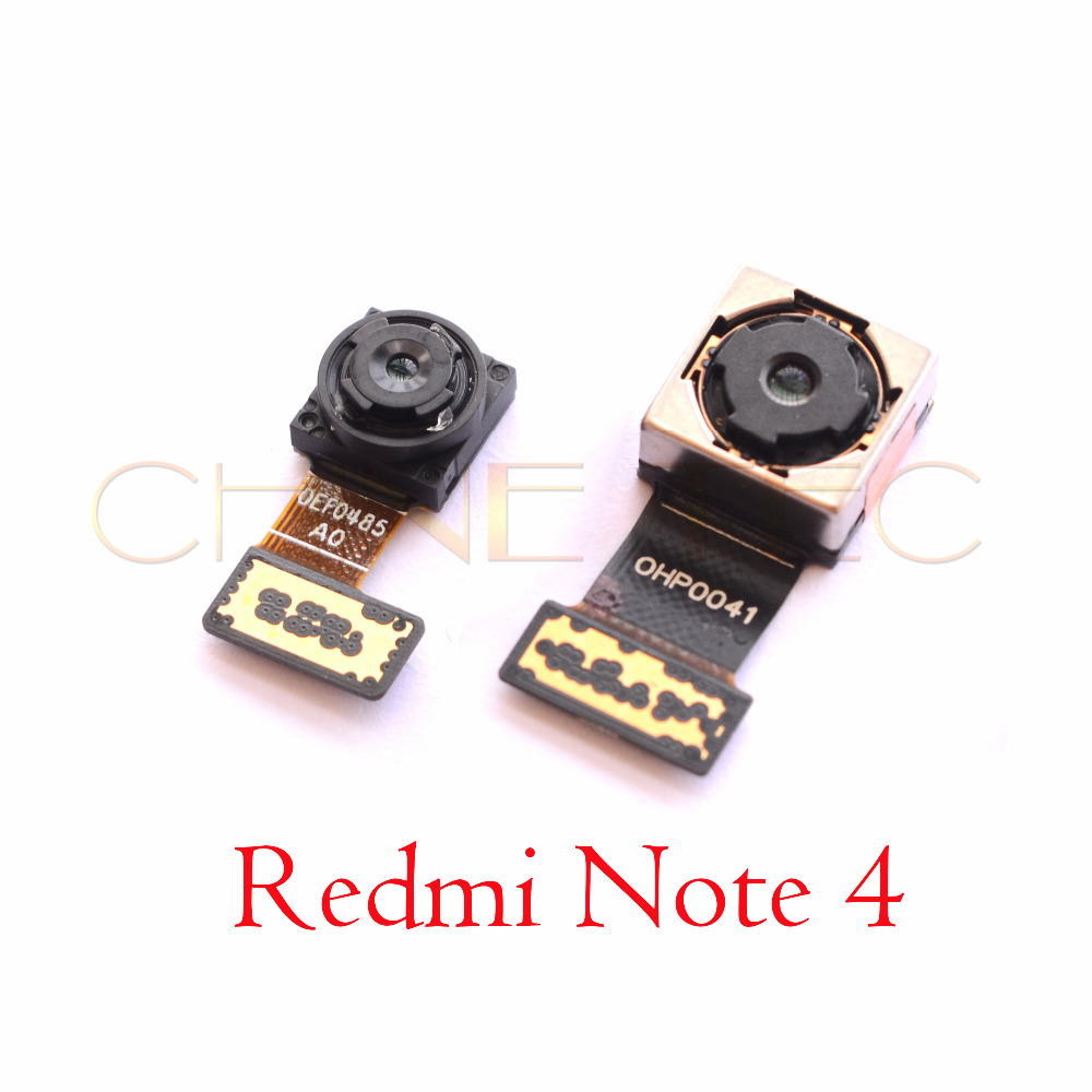Front Small Facing  Camera/back Camera Rear Camera For Redmi Note 4 (Global Version )with Snapdragon 625 CPU
