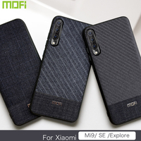 Voor Xiao mi mi 9 case mofi Voor Xiao Mi Mi 9 se verkennen case doek STOFFEN Voor Xiao Mi mi 9 se CASE Verkennen Versie Cover Business Se