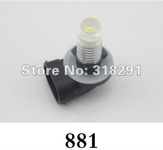HIGH POWER 3W 881 880 h3 P13W H8 H11 9006  H16 H10 H7 H4 Fog Light led auto bulb,