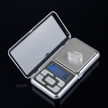 1pcs New Drop ship  500g 0.1g Scale Electronic Mini Digital Pocket Weight Jewelry Diomand Balance digital scale scale jewelry