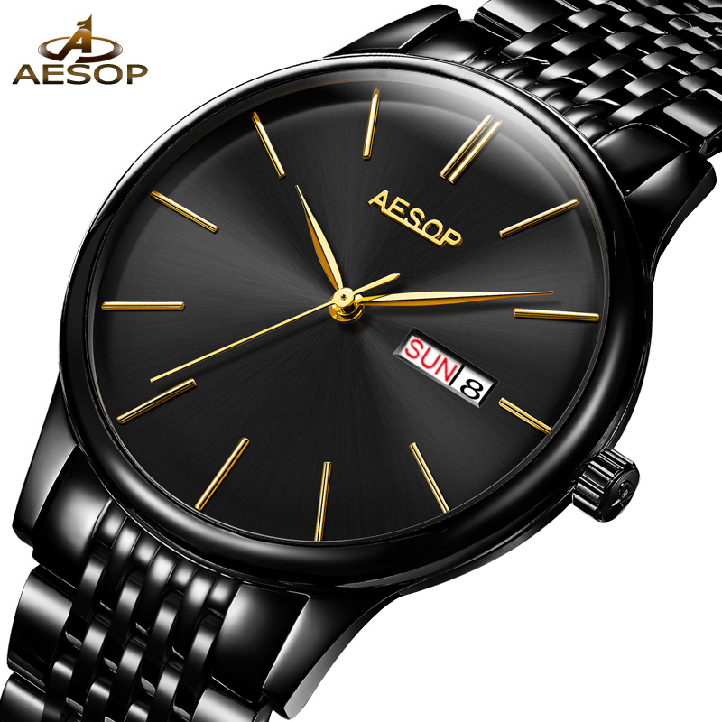 AESOP Watch Men Luxury Brand Business Casual full Steel Mechanical Watch Men Fashion Sapphire Waterproof Wristwatch Montre HommeAESOP Watch Men Luxury Brand Business Casual full Steel Mechanical Watch Men Fashion Sapphire Waterproof Wristwatch Montre Homme