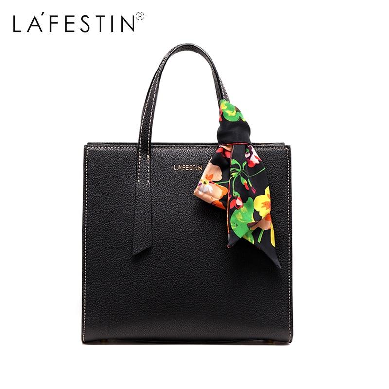LA FESTIN Women Handbag Leather Designer Shoulder Bag High Quality Party Tote Handbag Lady Crossbody Messenger