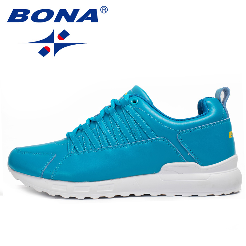$34.72 BONA New Popular Style Men Running Shoes Lace Up Men Athletic Shoes Outdoor Jogging Sneakers Comfortable Fast Free Shipping