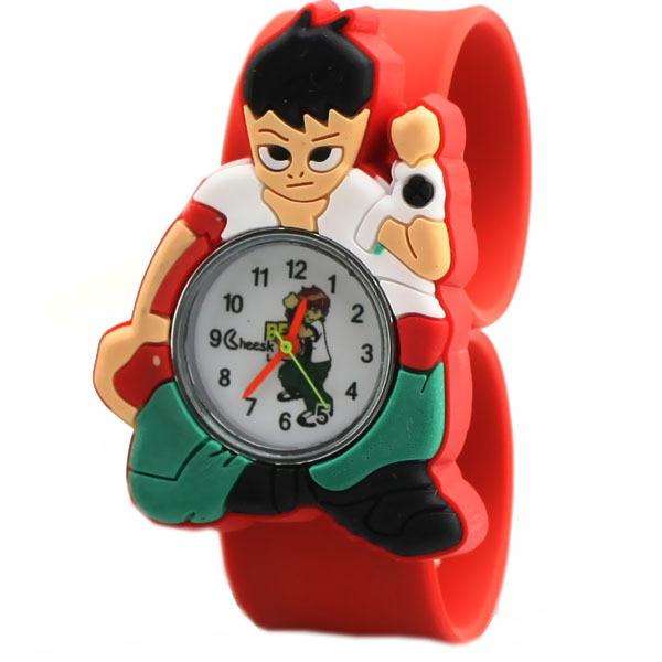 liten pojke tecknad klocka wristwatch barn sport klocka mode pojkar - Barnklockor - Foto 2