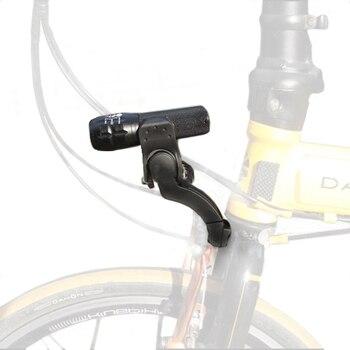 Vélo avant lumière montage fourche lumière archmount Extension lampe de poche support Extender