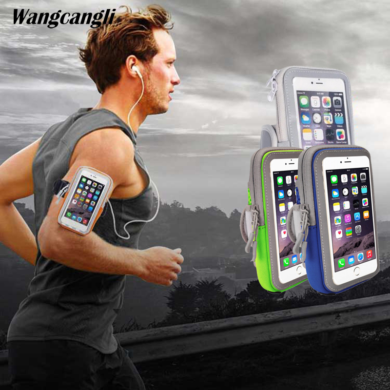 Haissky Sport Running Armband Case For Iphone Xs Xr 6s 7 8 Plus Samsung S8 S9 Plus Xiaomi Mi8 Pocophone F1 Touch Screen Arm Bag Neither Too Hard Nor Too Soft Cellphones & Telecommunications Armbands