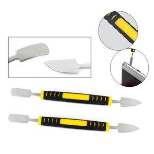 Image 3 - 16 In 1 Spatula Opening Tools Phone Repair Kits Magnetizer Demagnetizer Tool Screwdriver Set For Smartphone Repair Hand Tools