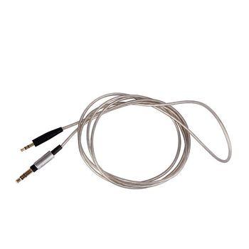 Замена обновления посеребренный аудиокабель для B & W Bowers & Wilkins P3 серии 2 P5 P7/P7 беспроводные наушники гарнитура >> gongheyfacai Store