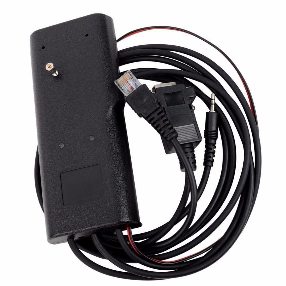 3in1 RIB-Less Programming Cable For Motorola GP88 GP300 P110 GP2000 CP040 GM300 Two Way Radio