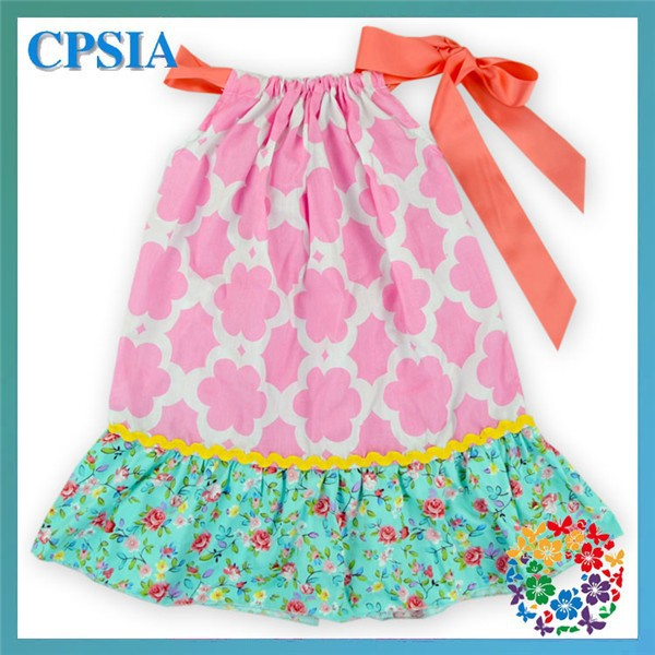 bf8242b6fb79 24PCS LOT 2015 Baby Girl Casual Dress Designs Hot Pink Floral Baby 1 ...