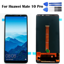6.0 For Huawei Mate 10 Pro LCD inch Display Mobile Phone Touch Screen Digitizer Sensor Assembly BLA-L09 BLA-L29 Free To