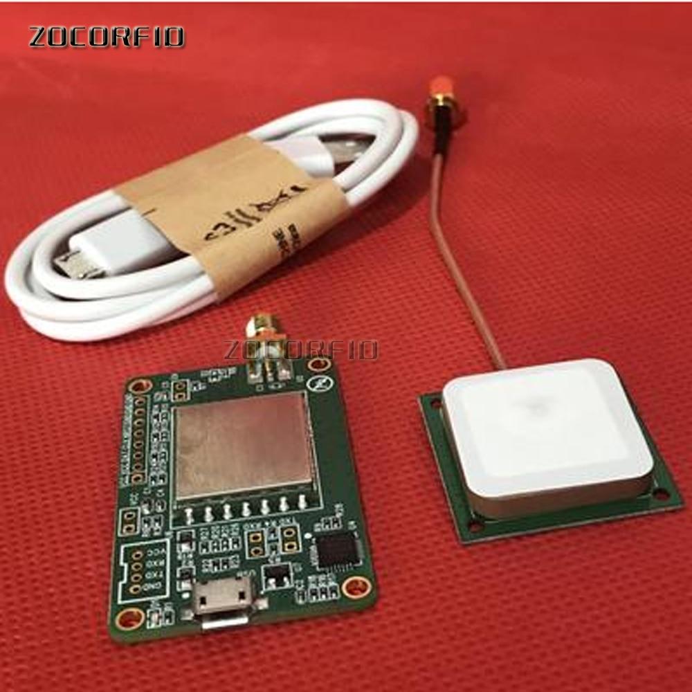 Free shipping UHF RFID reader module USB interface with uart UHF Passive 6C UHF reader module SDK+MEDO+Documentation+Antenna rfid uhf rfid module module uhf rfid near range rfid module