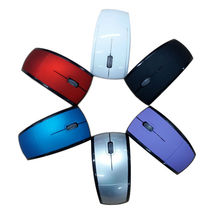 1600DPI Foldable Wireless Mouse for computer Folding Mouse + USB Receiver for PC Laptop 2.4GHz Creative Foldable Mice