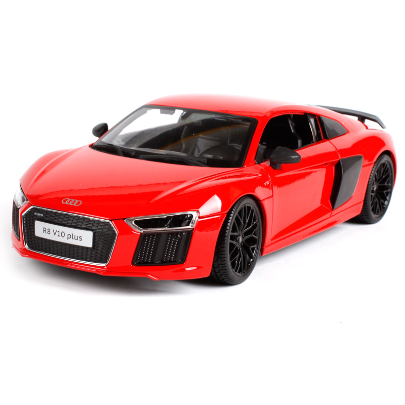 Maisto 1:18 Audi R8 V10 PLUS Sports Car Diecast Model Car Toy New In Box Free Shipping NEW ARRIVAL 36213 2017 new maisto 1 18 scale metal car