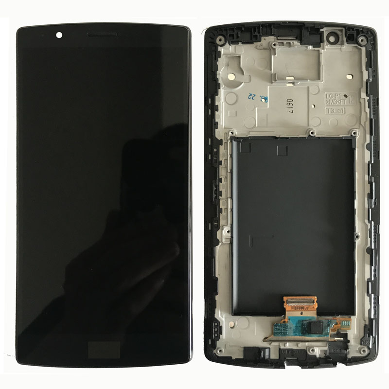 Single SIM 5.5 ORIGINAL Display for LG G4 LCD H815 Display Touch Screen with Frame for LG G4 LCD Replacment H810 H811 H815 image