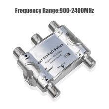 KEBIDU 4 in 1 DS-41 4x1 DiSEqC Switch Satelliti antenna FTA TV Interruttore Per Ricevitore Satellitare 4X1 DISEqC Switch Switch Satellitare