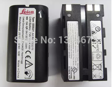 NEW total station lithium battery GEB221 7.4 V 4.44 AH Apply TCA1201 + / TPS/TCR1200 TS02/06/09 Li-ion battery