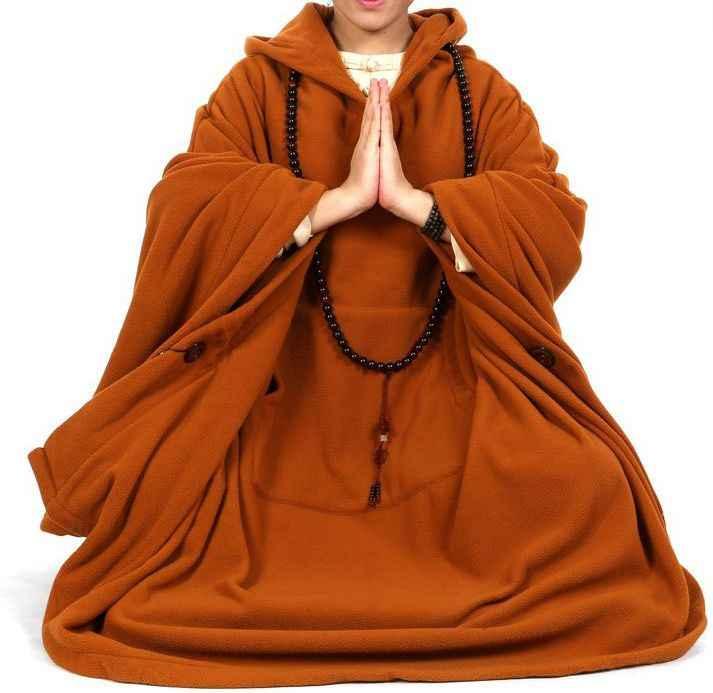 6 цветов, унисекс, серый/коричневый/красный/синий, зимние и осенние костюмы для буддистов медитация, плащ-накидка, пальто для боевых искусств