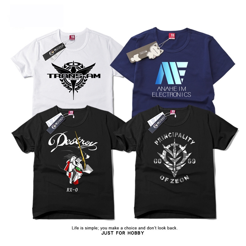 Japanese animation cartoon Persona 5 T-shirt with short sleeves Printed cotton game team logo short sleeve  T-shirt BOY Student