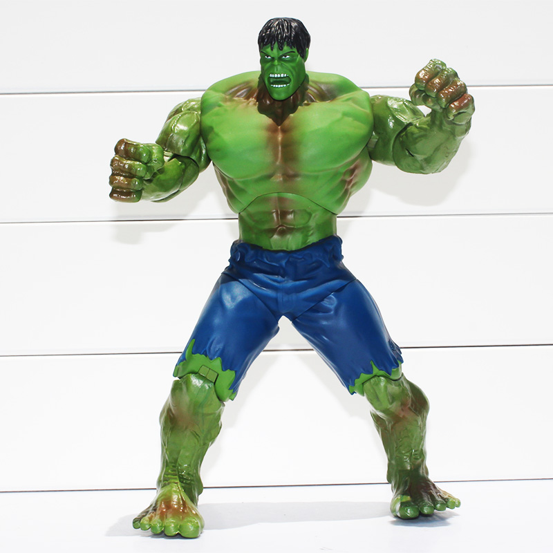 Super hero the avengers 10 26cm Green Hulk PVC Action Figure Toy Best gift for kids free shipping high quality hulk figures the avengers super hero pvc model hulk action figures children kids best gift