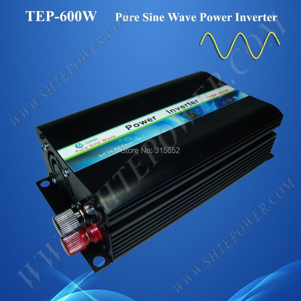 600W 24V 240V Pure Sine Wave Micro Solar Inverter